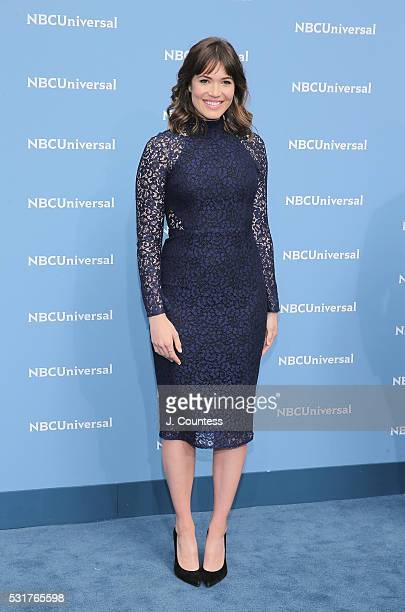 Actress Mandy Moore attends the NBCUniversal 2016 Upfront at Radio City Music Hall on May 16 2016 in New York City