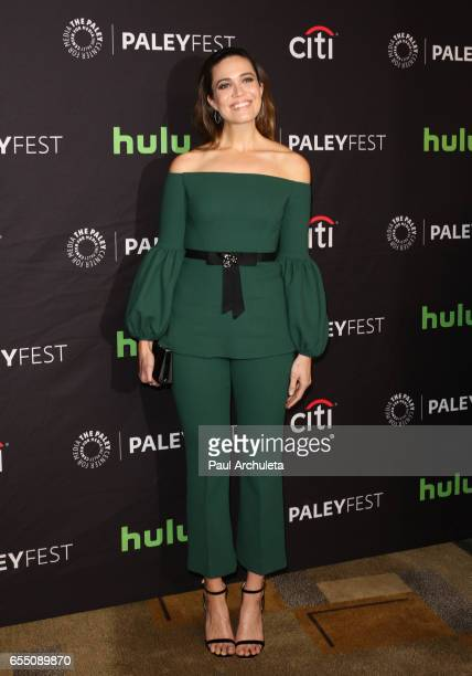 Actress Mandy Moore attends The Paley Center For Media's 34th Annual PaleyFest Los Angeles 'This Is Us' at the Dolby Theatre on March 18 2017 in...