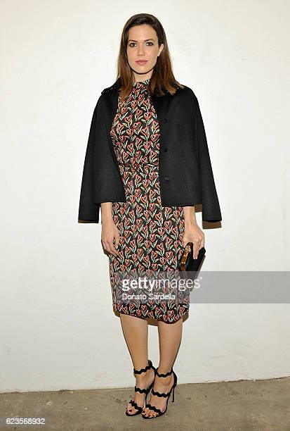 Actress Mandy Moore attends the premiere of 'Past Forward' a movie by David O Russell presented by Prada on November 15 2016 at Hauser Wirth Schimmel...