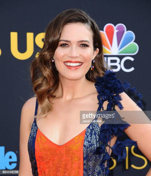 Actress Mandy Moore attends the season 2 premiere of 'This Is Us' at NeueHouse Hollywood on September 26 2017 in Los Angeles California