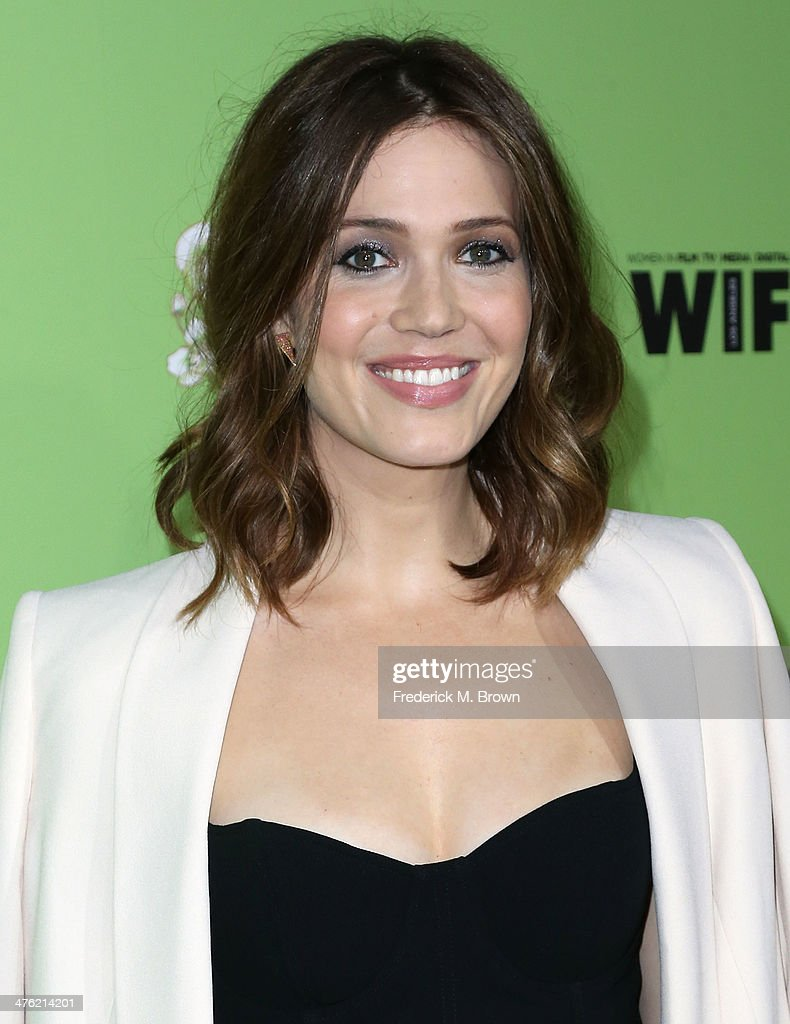 Actress Mandy Moore attends the Women in Film Pre-Oscar Cocktail Party Presented by Perrier-Jouet, MAC & MaxMara at the Fig & Olive Melrose Place on February 28, 2014 in West Hollywood, California.