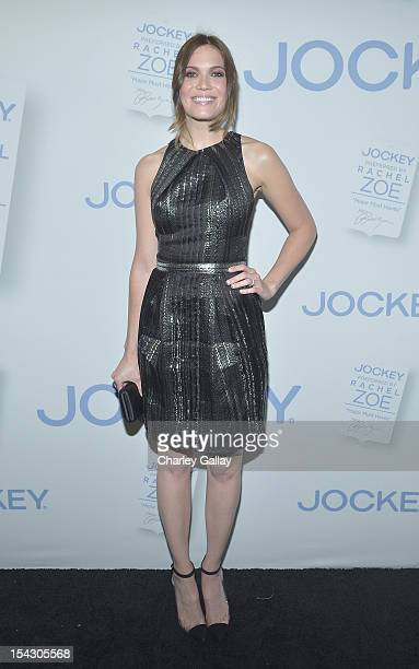 Actress Mandy Moore celebrates the launch of Rachel ZoeÕs ÒMajor Must HavesÓ from Jockey at Sunset Tower on October 17 2012 in West Hollywood...