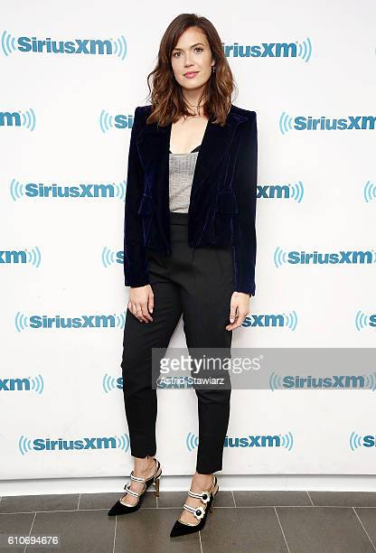 Actress Mandy Moore visits the SiriusXM Studios on September 27 2016 in New York City