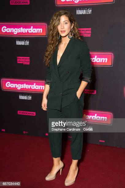 Actress Manon Azem attends the 'Gangsterdam' Paris Premiere at Le Grand Rex on March 23 2017 in Paris France