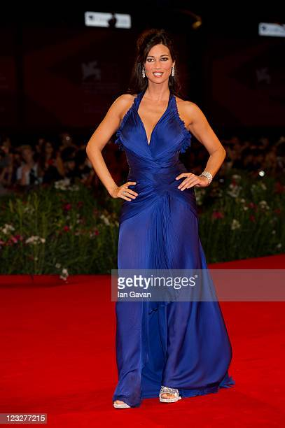 Actress Manuela Arcuri attends the 'Carnage' premiere at the Palazzo Del Cinema during the 68th Venice Film Festival on September 1 2011 in Venice...