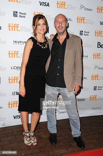 Actress Manuela Velasco and director/screenwriter Jaume Balaguero attends the '[REC]4 Apocalypse' premiere during the 2014 Toronto International Film...