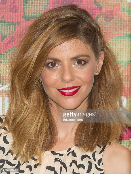 Actress Manuela Velasco attends MAC new trends party photocall at the Association of Architects on June 11 2015 in Madrid Spain
