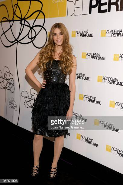Actress Manuela Velasco attends the 'Academia del Perfume' Awards on November 18 2009 in Madrid Spain