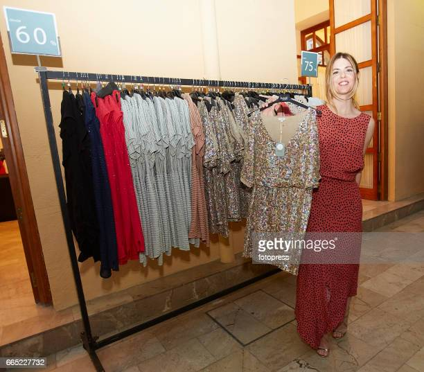 Actress Manuela Velasco attends the 'Intropia Rastrillo Solidario' at Palacio de La Exposicion on April 5 2017 in Valencia Spain