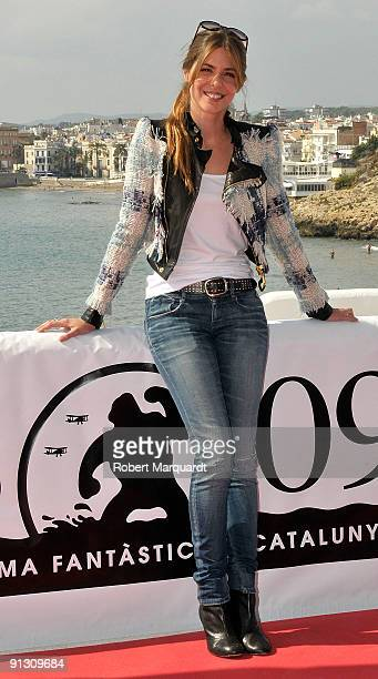 Actress Manuela Velasco attends the 'Rec 2' photocall during the 42nd Sitges Film Festival on October 1 2009 in Barcelona Spain