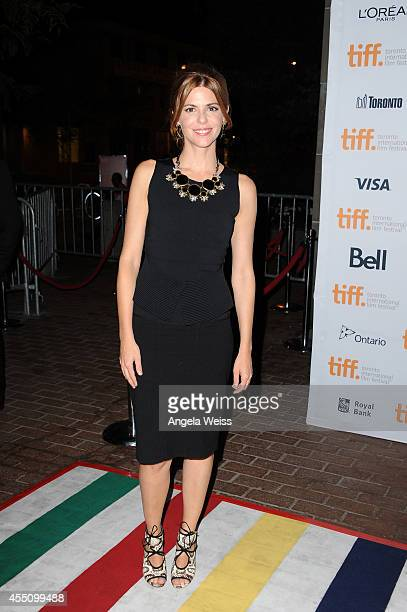 Actress Manuela Velasco attends the '[REC]4 Apocalypse' premiere during the 2014 Toronto International Film Festival at Ryerson Theatre on September...