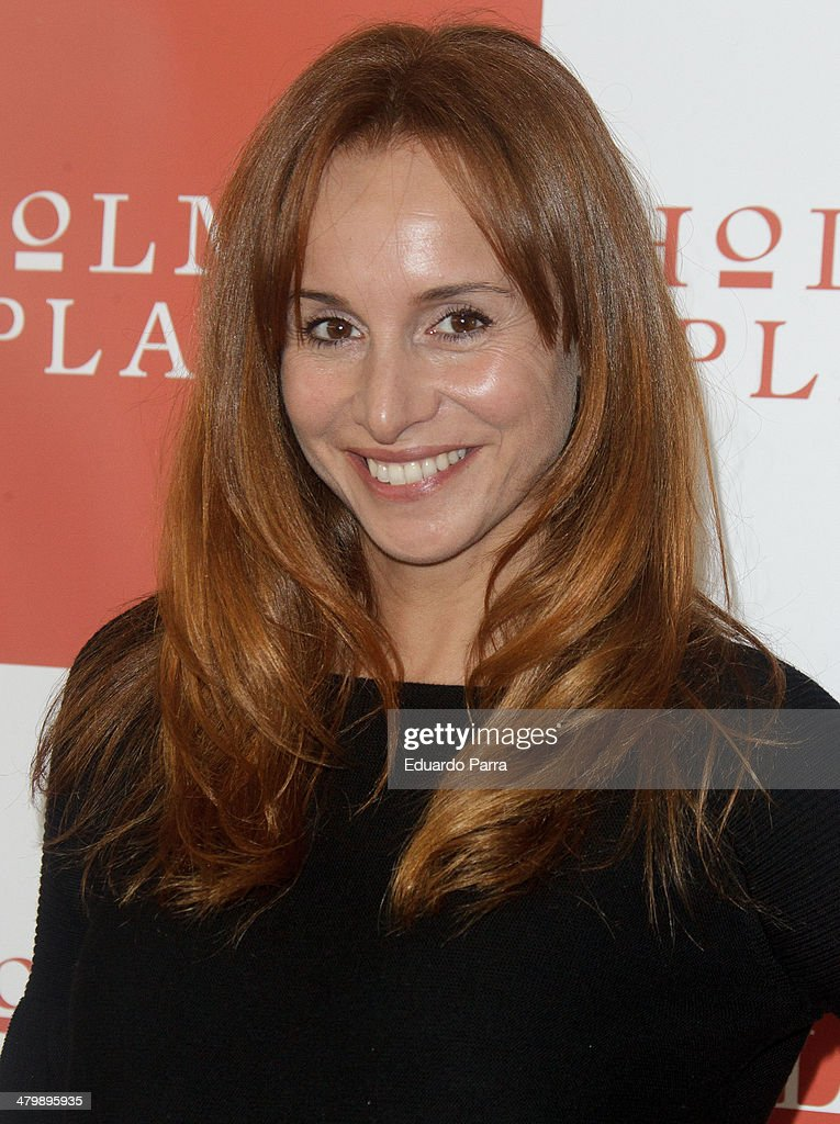 Actress Mar Regueras attends 'iDance' opening photocall at Holmes Palace on March 21, 2014 in Madrid, Spain.