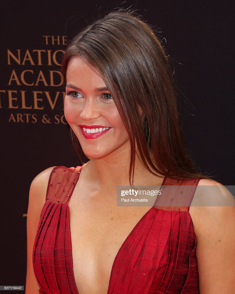 Actress Mara McCaffray attends the 2016 Daytime Emmy Awards at The Westin Bonaventure Hotel on May 1, 2016 in Los Angeles, California.
