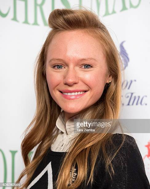 Actress Marci Miller arrives at the 85th Annual Hollywood Christmas Parade on November 27 2016 in Hollywood California