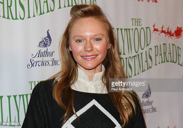 Actress Marci Miller attends the 85th Annual Hollywood Christmas Parade on November 27 2016 in Hollywood California