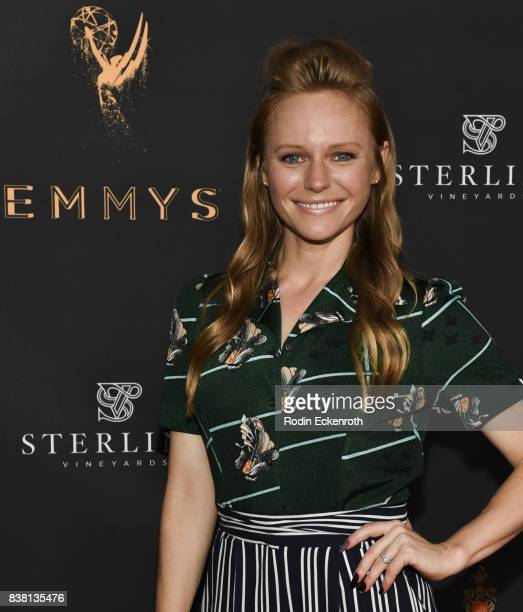 Actress Marci Miller attends the Television Academy's Cocktail Reception with Stars of Daytime Television Celebrating 69th Emmy Awards at Saban Media...