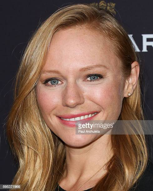 Actress Marci Miller attends the Television Academy's daytime television celebration at The Saban Media Center on August 24 2016 in North Hollywood...