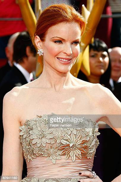 Actress Marcia Cross arrives at the 60th Primetime Emmy Awards held at Nokia Theatre on September 21 2008 in Los Angeles California