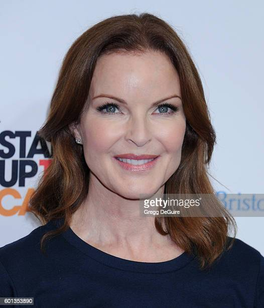 Actress Marcia Cross attends Hollywood Unites for the 5th Biennial Stand Up To Cancer A Program of The Entertainment Industry Foundation at Walt...
