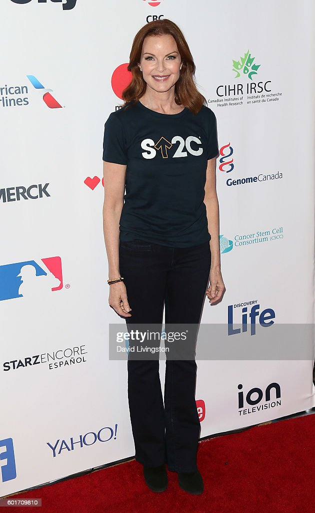 Actress Marcia Cross attends Hollywood Unites for the 5th Biennial Stand Up To Cancer (SU2C), a program of the Entertainment Industry Foundation (EIF), at Walt Disney Concert Hall on September 9, 2016 in Los Angeles, California.