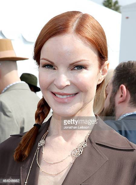 Actress Marcia Cross attends the 2015 Film Independent Spirit Awards at Santa Monica Beach on February 21 2015 in Santa Monica California