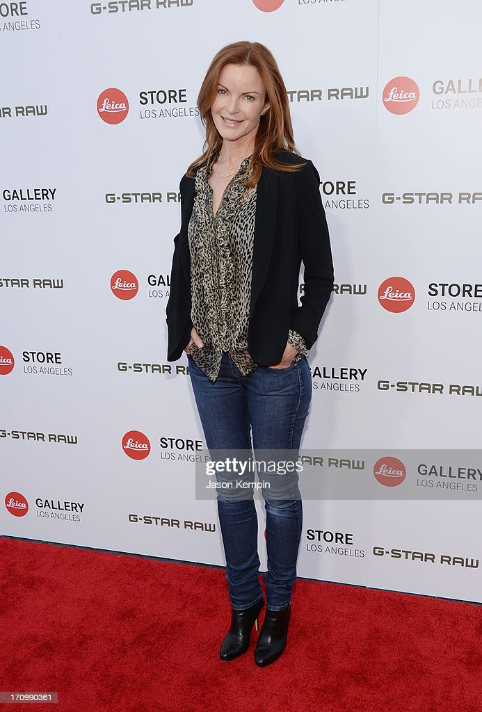 Actress <a gi-track='captionPersonalityLinkClicked' href=/galleries/search?phrase=Marcia+Cross&family=editorial&specificpeople=202844 ng-click='$event.stopPropagation()'>Marcia Cross</a> attends the Leica Store Los Angeles grand opening on June 20, 2013 in Los Angeles, California.