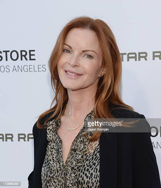 Actress Marcia Cross attends the Leica Store Los Angeles grand opening on June 20 2013 in Los Angeles California