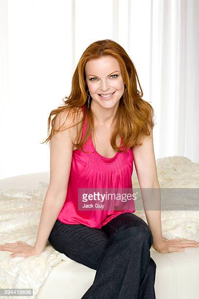 Actress Marcia Cross is photographed for Health Magazine in 2008.