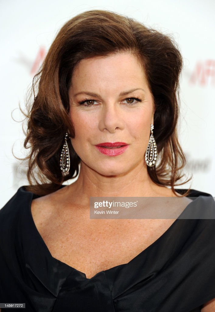 Actress <a gi-track='captionPersonalityLinkClicked' href=/galleries/search?phrase=Marcia+Gay+Harden&family=editorial&specificpeople=202089 ng-click='$event.stopPropagation()'>Marcia Gay Harden</a> arrives at the 40th AFI Life Achievement Award honoring Shirley MacLaine held at Sony Pictures Studios on June 7, 2012 in Culver City, California. The AFI Life Achievement Award tribute to Shirley MacLaine will premiere on TV Land on Saturday, June 24 at 9PM ET/PST.