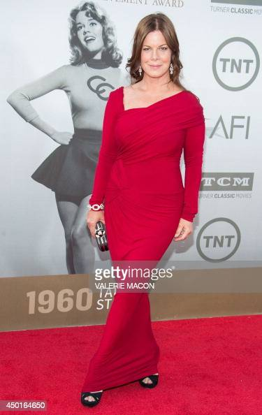 Actress Marcia Gay Harden arrives at the 42nd AFI Life Achievement Award honoring Jane Fonda in Hollywood California June 5 2014 AFP PHOTO / Valerie...