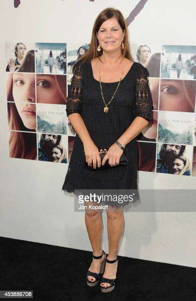 Actress Marcia Gay Harden arrives at the Los Angeles Premiere 'If I Stay' at TCL Chinese Theatre on August 20 2014 in Hollywood California