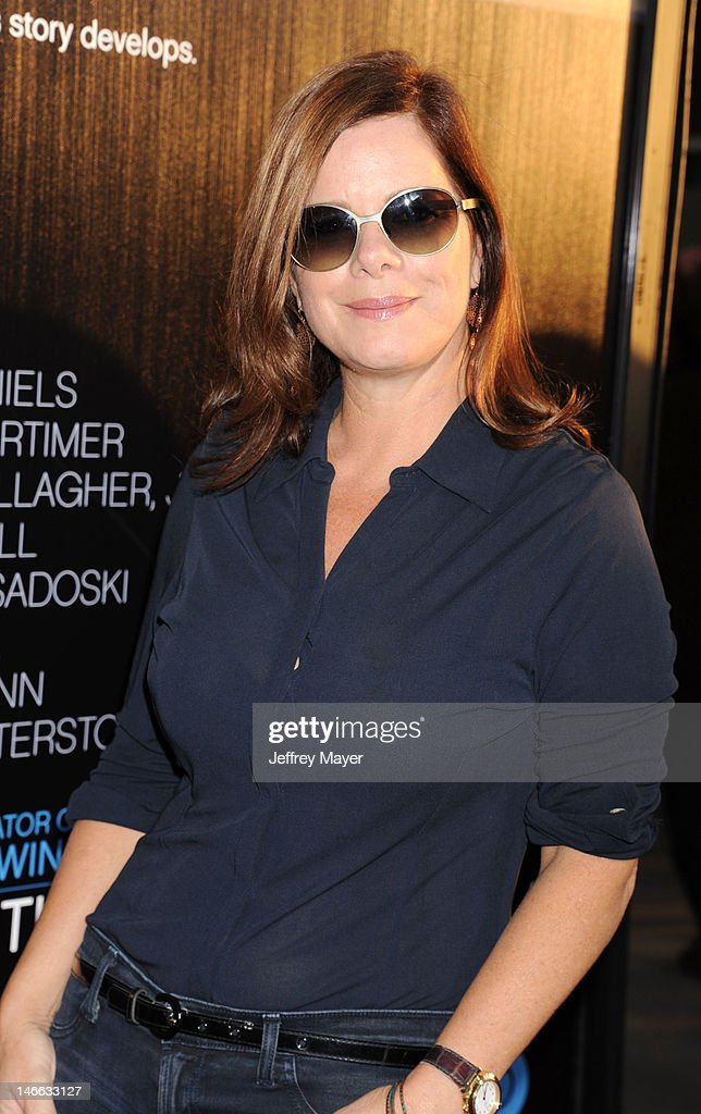 Actress Marcia Gay Harden arrives at the Los Angeles premiere of HBO's 'The Newsroom' at ArcLight Cinemas Cinerama Dome on June 20, 2012 in Hollywood, California.
