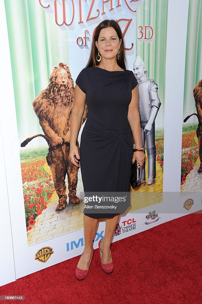 Actress Marcia Gay Harden arrives at the world premiere of 'The Wizard Of Oz 3D' and grand opening of the new TCL Chinese Theatre IMAX at TCL Chinese Theatre on September 15, 2013 in Hollywood, California.