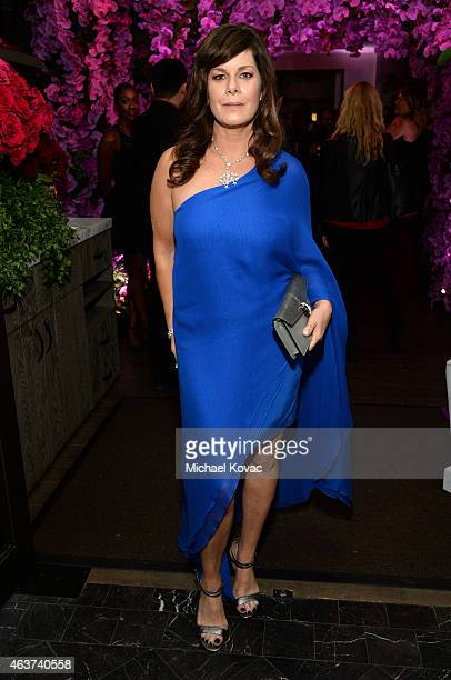 Actress Marcia Gay Harden attends BVLGARI and Save The Children STOP THINK GIVE PreOscar Event at Spago on February 17 2015 in Beverly Hills...