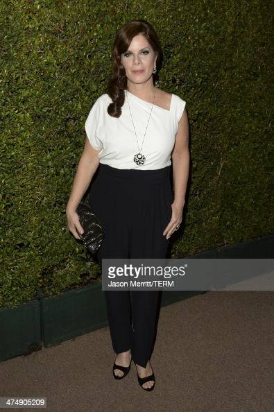 Actress Marcia Gay Harden attends 'Decades of Glamour' presented by BVLGARI on February 25 2014 in West Hollywood California