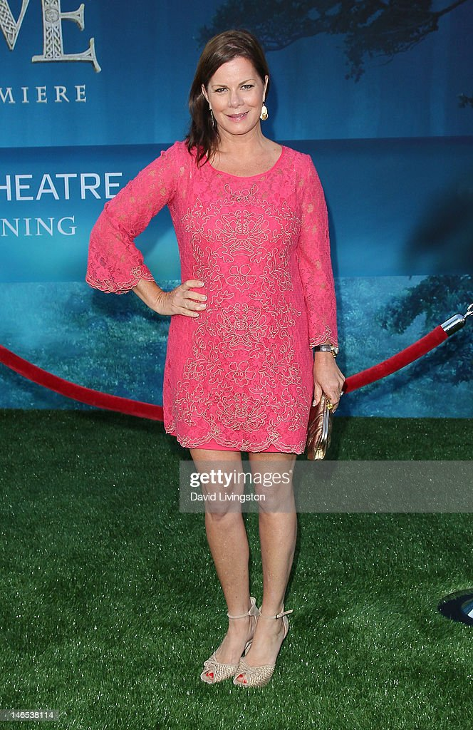 Actress Marcia Gay Harden attends Film Independent's 2012 Los Angeles Film Festival premiere of Disney Pixar's 'Brave' at the Dolby Theatre on June 18, 2012 in Hollywood, California.