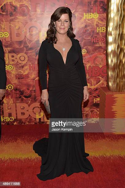 Actress Marcia Gay Harden attends HBO's Official 2015 Emmy After Party at The Plaza at the Pacific Design Center on September 20 2015 in Los Angeles...