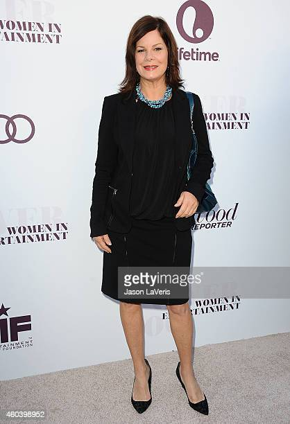 Actress Marcia Gay Harden attends the Hollywood Reporter's Women In Entertainment breakfast at Milk Studios on December 10 2014 in Los Angeles...