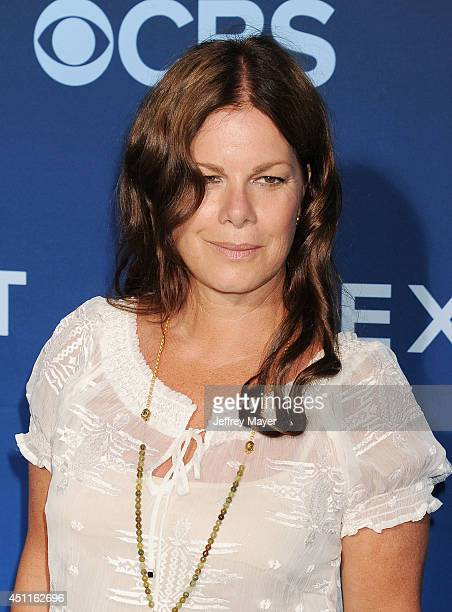 Actress Marcia Gay Harden attends the Premiere Of CBS Films' 'Extant' at California Science Center on June 16 2014 in Los Angeles California