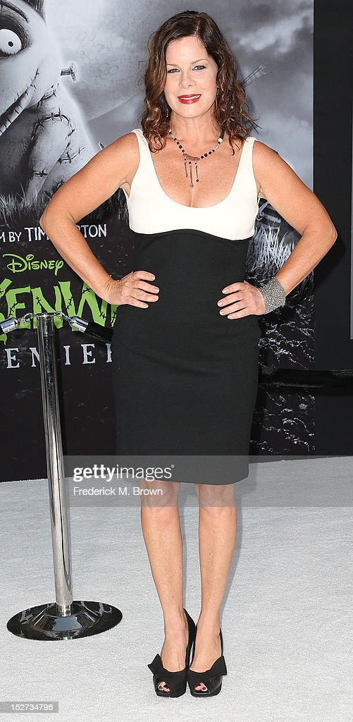 Actress Marcia Gay Harden attends the Premiere Of Disney's 'Frankenweenie' at the El Capitan Theatre on September 24, 2012 in Hollywood, California.