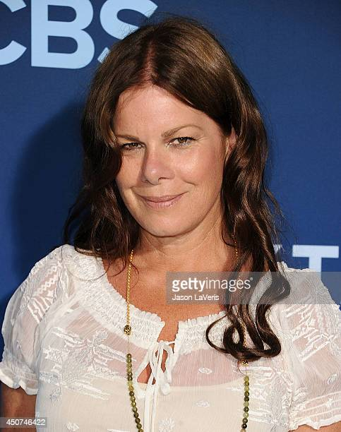 Actress Marcia Gay Harden attends the premiere of 'Extant' at California Science Center on June 16 2014 in Los Angeles California
