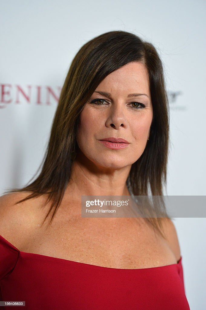 Actress Marcia Gay Harden attends the premiere of Focus Features' 'Anna Karenina' held at ArcLight Cinemas on November 14, 2012 in Hollywood, California.