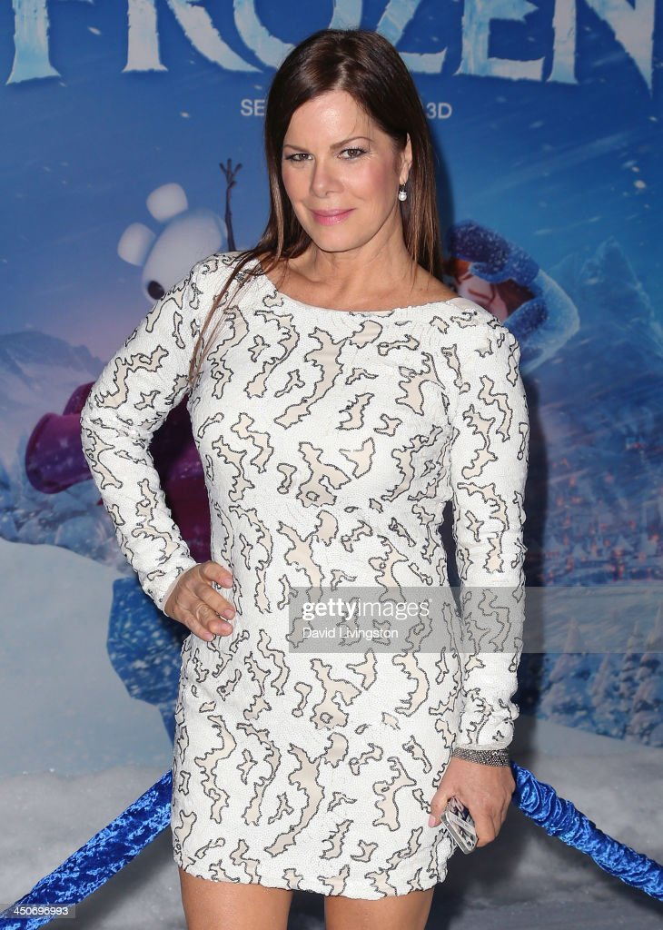 Actress <a gi-track='captionPersonalityLinkClicked' href=/galleries/search?phrase=Marcia+Gay+Harden&family=editorial&specificpeople=202089 ng-click='$event.stopPropagation()'>Marcia Gay Harden</a> attends the premiere of Walt Disney Animation Studios' 'Frozen' at the El Capitan Theatre on November 19, 2013 in Hollywood, California.