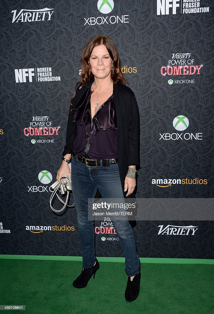 Actress <a gi-track='captionPersonalityLinkClicked' href=/galleries/search?phrase=Marcia+Gay+Harden&family=editorial&specificpeople=202089 ng-click='$event.stopPropagation()'>Marcia Gay Harden</a> attends Variety's 4th Annual Power of Comedy presented by Xbox One benefiting the Noreen Fraser Foundation at Avalon on November 16, 2013 in Hollywood, California.
