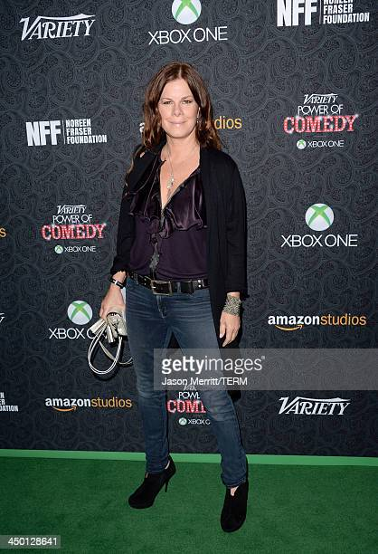 Actress Marcia Gay Harden attends Variety's 4th Annual Power of Comedy presented by Xbox One benefiting the Noreen Fraser Foundation at Avalon on...
