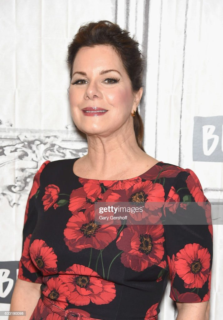 Actress Marcia Gay Harden visits AOL Build to discuss her role in 'Fifty Shades Darker' at Build Studio on January 31, 2017 in New York City.