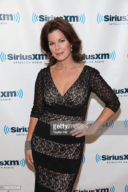 Actress Marcia Gay Harden visits SiriusXM Studio on November 17 2011 in New York City