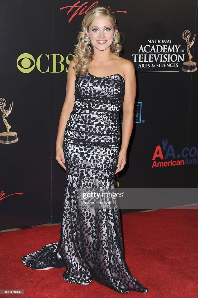 Actress Marcy Rylan arrives at the 37th Annual Daytime Entertainment Emmy Awards held at the Las Vegas Hilton on June 27, 2010 in Las Vegas, Nevada.