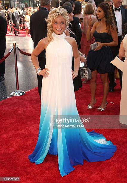 Actress Marcy Rylan arrives to The 35th Annual Daytime Emmy Awards at the Kodak Theatre on June 20 2008 in Los Angeles California
