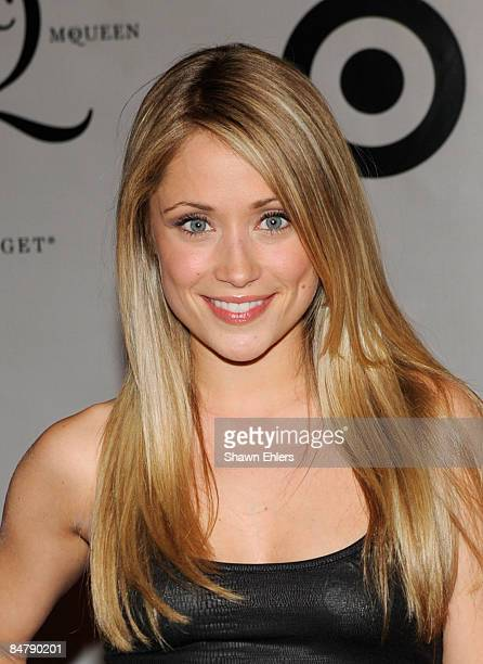 Actress Marcy Rylan attends the McQ Alexander McQueen for Target launch party at St John's Center on February 13 2009 in New York City